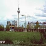 Funkturm und Reste vom Palast der Republik