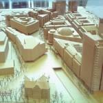 Modell vom Potsdamer Platz