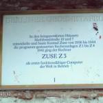 Gedenktafel Konrad Zuse