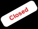 Closed-Geschlossen